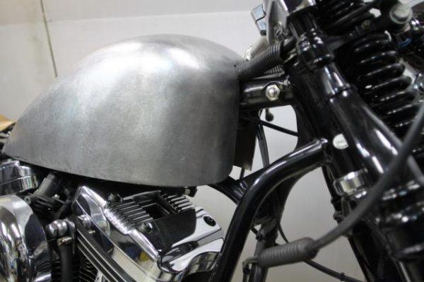 ロードホッパー TYPE2iのガソリンタンクを製作