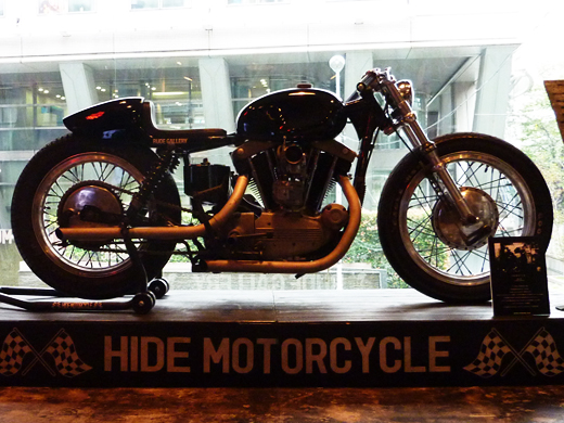 RUDE GALLERY meets HIDE MOTORCYCLE
